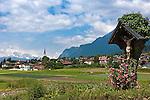 Austria, Tyrol, Rum: Innsbruck Holiday Village between Innsbruck and Hall in Tyrol | Oesterreich, Tirol, Innsbrucks Feriendorf: Marktgemeinde RUM, eines der MARTHA-Doerfer, die an der alten Landstraße von Innsbruck nach Hall in Tirol liegen