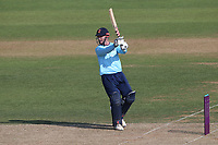 Simon Harmer hits 4 runs for  Essex during Hampshire Hawks vs Essex Eagles, Royal London One-Day Cup Cricket at The Ageas Bowl on 22nd July 2021