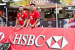 HSBC Ambassadors at the Sevens Village during HSBC Hong Kong Rugby Sevens 2016 on 07 April 2016 at Hong Kong Stadium in Hong Kong, China. Photo by Kitmin Lee / Power Sport Images