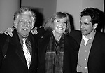 Ben Stiller <br /> with his parents Jerry Stiller and Anne Meara<br /> Attending the opening night performance of THREE SISTERS at the Roundabout Theatre in New York City.<br /> May 21, 1998