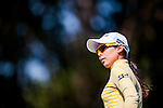 Char-Young Kim of Korea looks on during the Hyundai China Ladies Open 2014 at World Cup Course in Mission Hills Shenzhen on December 14 2014, in Shenzhen, China. Photo by Xaume Olleros / Power Sport Images