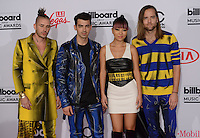 DNCE @ the 2016 Billboard music awards held @ the T-Mobile arena.<br /> May 22, 2016