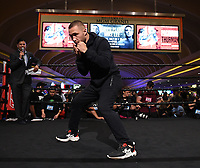 LAS VEGAS - JULY 17: Sergey Lipinets attends the media workout for the PBC on Fox Sports Pay-Per-View at the MGM Grand on July 17, 2019 in Las Vegas, Nevada. (Photo by Frank Micelotta/Fox Sports/PictureGroup)