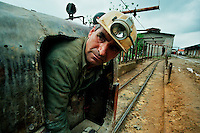 SREBRENICA / REPUBLIKA SRPSKA 2005.<br /> Fin dall'antichità, Srebrenica era famosa per le miniere d'argento ela stessa località prende il nome da questo metallo (Srebren).<br /> Le Miniere che prima del conflitto davano tanto lavoro alla popolazione, sono state abbandonate durante la guerra ed hanno ripreso recentemente attività grazie all'interesse di una compagnia russa.<br /> Since ancient times, Srebrenica was famous for its silver mines and the same city takes name from this metal (Srebren).<br /> Mines that before the conflict gave much work to the population, have been abandoned during the war and resumed activity recently thanks to the interest of a Russian company. <br /> Photo Livio Senigalliesi