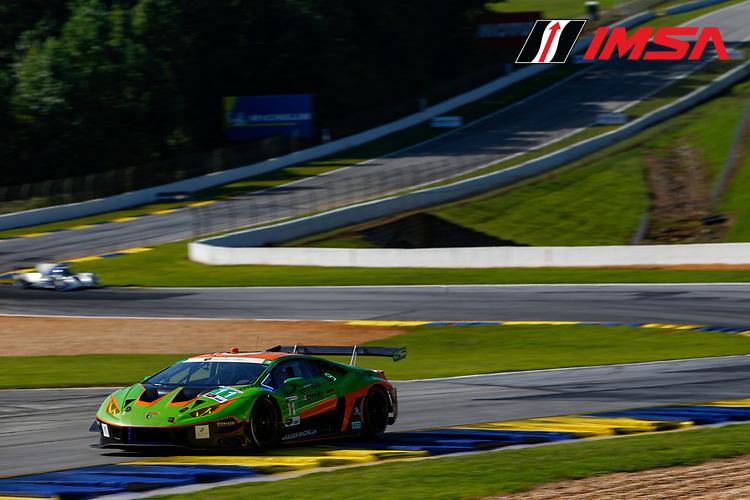 #11 GRT Grasser Racing Team Lamborghini Huracan GT3, GTD: Richard Heistand, Steijn Schothorst, Richard Westbrook