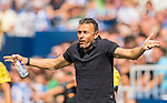 Coach Luis Enrique Martinez of FC Barcelona reacts during their La Liga match between Deportivo Leganes and FC Barcelona at the Butarque Municipal Stadium on 17 September 2016 in Madrid, Spain. Photo by Diego Gonzalez Souto / Power Sport Images