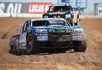 Mar. 18, 2011; Chandler, AZ, USA;  LOORRS pro 2 unlimited driver Robby Woods during qualifying for round one at Firebird International Raceway. Mandatory Credit: Mark J. Rebilas-