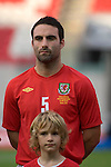 Wales' Craig Morgan during the International Friendly between Wales and Luxembourg at Parc y Scarlets in LLanelli..