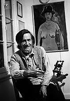 FILE PHOTO -  George Saint-Pierre en 1978<br /> <br /> <br /> PHOTO :  Andre Boucher - Agence quebec Presse<br /> <br /> HI RES Sur demande - aucune restriction