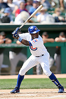 February 29, 2008: Alfonso Soriano of the Chicago Cubs at Hohokam Park during spring training in Mesa, AZ. Photo by:  Chris Proctor/Four Seam Images