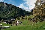 Italien, Suedtirol, St. Gertraud (Santa Gertrude) im Ultental (Val d'Ultimo), das parallel zum Vinschgau verlaeuft und bei Lana im Meraner Becken beginnt | Italy, South Tyrol, Alto Adige, village Santa Gertrude at Ulten Valley (Val d'Ultimo)