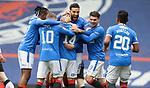 06.03.2021 Rangers v St Mirren: Ryan Kent mobbed after scoring