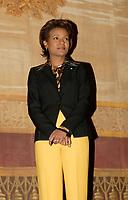 La Gouverneure-Generale Michaelle Jean, <br /> lors de l'ouverture du festival VUES D AFRIQUE, le 25 Avril 2006,<br /> au Cinema Imperial<br /> <br /> PHOTO : Agence Quebec Prese