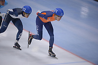 SPEEDSKATING: 23-11-2019 Tomaszów Mazowiecki (POL), ISU World Cup Arena Lodowa, Mass Start Men, Jorrit Bergsma (NED), ©photo Martin de Jong