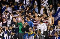 USA fans.USA vs Honduras, Saturday Jan. 23, 2010 at the Home Depot Center in Carson, California. Honduras 3, USA 1.