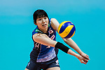 Wing spiker Risa Shinnabe of Japan in action during the FIVB Volleyball World Grand Prix - Hong Kong 2017 match between Japan and Russia on 23 July 2017, in Hong Kong, China. Photo by Yu Chun Christopher Wong / Power Sport Images