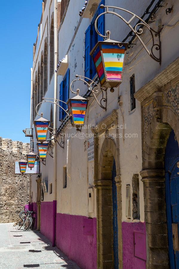 Essaouira, Morocco.  Street Scene.