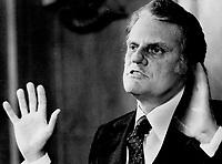 Evangelists Billy Graham