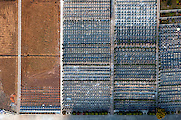 Rows of graves at the modern cemetery in Jiangyin. /Felix Features