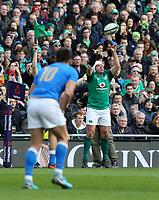 Saturday 10th February 2018 | Ireland vs Italy<br /> <br /> Rory Best during the Six Nations Rugby Championship match between Ireland and Italy at the Aviva Stadium, Lansdowne Road,  Dublin Ireland. Photo by John Dickson / DICKSONDIGITAL