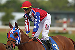HOT SPRINGS, AR - APRIL 15: For Greater Glory #3, with jockey Corey Lanerie aboard after the 5th race at Oaklawn Park on April 15, 2017 in Hot Springs, Arkansas. (Photo by Justin Manning/Eclipse Sportswire/Getty Images)