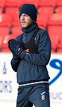 St Johnstone Training…12.12.17<br />Murray Davidson pictured during training this morning at McDiarmid Park ahead of tomorrow's game against Aberdeen<br />Picture by Graeme Hart.<br />Copyright Perthshire Picture Agency<br />Tel: 01738 623350  Mobile: 07990 594431