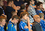 St Johnstone v FC Minsk...08.08.13 Europa League Qualifier<br /> Saints fans watch as the penalty shoot out goes wrong<br /> Picture by Graeme Hart.<br /> Copyright Perthshire Picture Agency<br /> Tel: 01738 623350  Mobile: 07990 594431