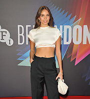 """Hana Cross at the 65th BFI London Film Festival """"The French Dispatch"""" Headline gala, Royal Festival Hall, Belvedere Road, on Sunday 10th October 2021, in London, England, UK. <br /> CAP/CAN<br /> ©CAN/Capital Pictures"""