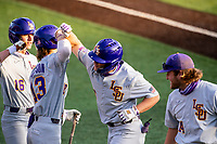 The Tennessee Volunteers took on the LSU Tigers on Robert M. Lindsay Field at Lindsey Nelson Stadium in Knoxville, Tennessee, on March 26, 2021. The Vols won 3-1. (Danny Parker/Four Seam Images)