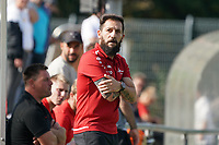 Trainer Kiki Ortega (Büttelborn) - Büttelborn 19.09.2021: SKV Büttelborn vs. SG Riedrode, Gruppenliga
