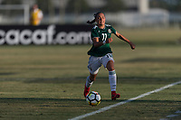 Bradenton, FL - Sunday, June 12, 2018: Anette Vazquez during a U-17 Women's Championship Finals match between USA and Mexico at IMG Academy.  USA defeated Mexico 3-2 to win the championship.
