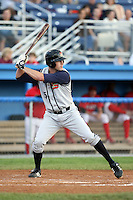 August 2nd 2008:  David Rubinstein of the State College Spikes, Class-A affiliate of the Pittsburgh Pirates, during a game at Dwyer Stadium in Batavia, NY.  Photo by:  Mike Janes/Four Seam Images