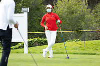 STANFORD, CA - APRIL 24: Ya Chun Chang at Stanford Golf Course on April 24, 2021 in Stanford, California.