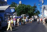 AJ1504, Cape Cod, Massachusetts, Provincetown, Shops in downtown Provincetown, Massachusetts.