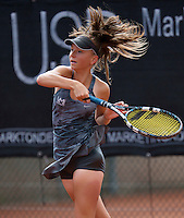 August 9, 2014, Netherlands, Rotterdam, TV Victoria, Tennis, National Junior Championships, NJK,  Perla Nieuwboer (NED)<br /> Photo: Tennisimages/Henk Koster