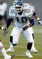 Antonious Bonner Toronto Argonauts 2003. Photo Scott Grant