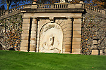Sculptures on the grounds of Kykuit, the Rockefeller estate, Pocantico Hills, New York.