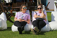 2 Ladies relaxing in the Wentworth sun during the BMW PGA Golf Championship at Wentworth Golf Course, Wentworth Drive, Virginia Water, England on 27 May 2017. Photo by Steve McCarthy/PRiME Media Images.