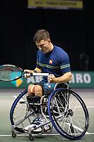 Rotterdam, The Netherlands, 6 march  2021, ABNAMRO World Tennis Tournament, Ahoy,  <br /> Semi final wheelchair: Gordon Reid (GBR).Photo: www.tennisimages.com/