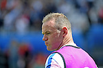 England Captain Wayne Rooney during warm up at the Stade Bollaert-Delelis in Lens, France ahead of the Euro 2016 Group B fixture between England and Wales.