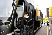 20th March 2021; Vicarage Road, Watford, Hertfordshire, England; English Football League Championship Football, Watford versus Birmingham City; Watford manager Xisco Munoz arrives at Vicarage Road.