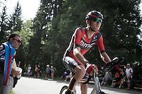 Tejay Van Garderen (USA/BMC)<br /> <br /> Stage 18 (ITT) - Sallanches › Megève (17km)<br /> 103rd Tour de France 2016