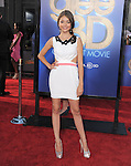 Sarah Hyland attends The 20th Century Fox - GLEE 3D Concert World Movie Premiere held at The Regency Village theatre in Westwood, California on August 06,2011                                                                               © 2011 DVS / Hollywood Press Agency