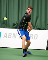 18-01-14,Netherlands, Rotterdam,  TC Victoria, Wildcard Tournament, , ,  Tom Smit (NED)  <br /> Photo: Henk Koster