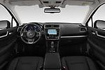Stock photo of straight dashboard view of 2019 Subaru Outback Premium 5 Door Wagon Dashboard