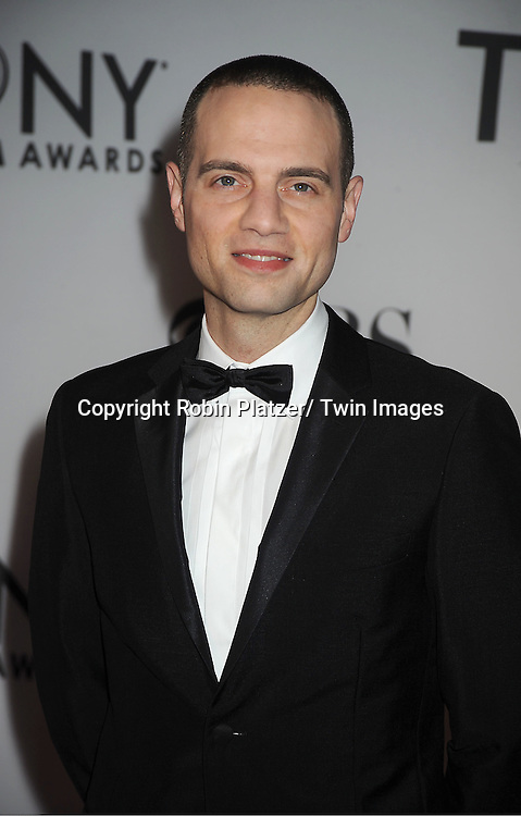Jordan Roth attends th 66th Annual Tony Awards on June 10, 2012 at The Beacon Theatre in New York City.