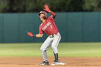STANFORD, CA - JUNE 6: Drew Bowser during a game between UC Irvine and Stanford Baseball at Sunken Diamond on June 6, 2021 in Stanford, California.