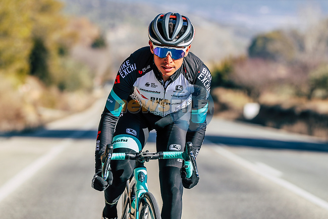 Esteban Chaves (COL) Team BikeExchange men's squad during their recent training camp in Calpe, Spain. 18th January 2021.<br /> Picture: Sara Cavallini/GreenEDGE Cycling   Cyclefile<br /> <br /> All photos usage must carry mandatory copyright credit (© Cyclefile   Sara Cavallini/GreenEDGE Cycling)