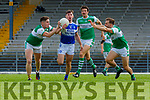 Gearoid Savage Kerins O'Rahillys is swarmed by Legion   players Rob Leen Padraig Lucey  and Podge O'Connor  during their SFC clash in Fitzgerald Stadium on Sunday