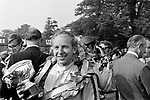 John Surtees winner of the 1970 International Daily Express Gold Cup at Oulton Park.